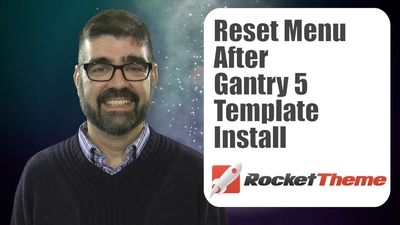 Gantry 5 Template takeover fix on a Joomla site