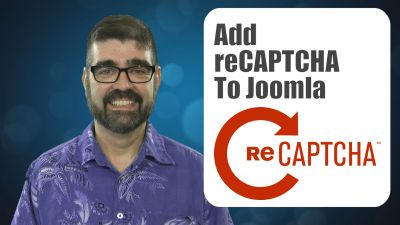A Joomla tutorial to set up Google's reCaptcha plugin on forms