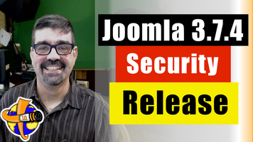 Joomla 3.7.4 Security and Bug Release is Out